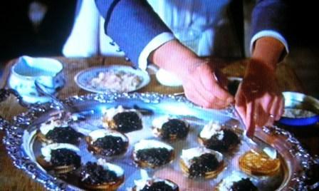 Les blinis au caviar recette du Festin de Babette