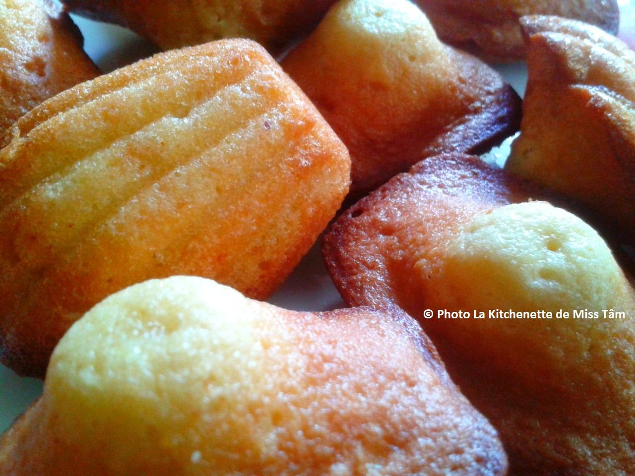 La Kitchenette de Miss Tâm Recette des madeleines