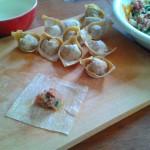 Kitchenette de Miss Tâm Soupe de raviolis chinois won ton