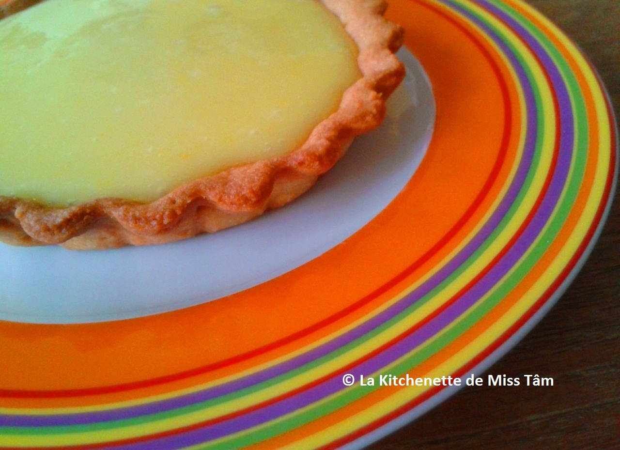 Tarte au citron Pâte à tarte La Kitchenette de Miss Tâm