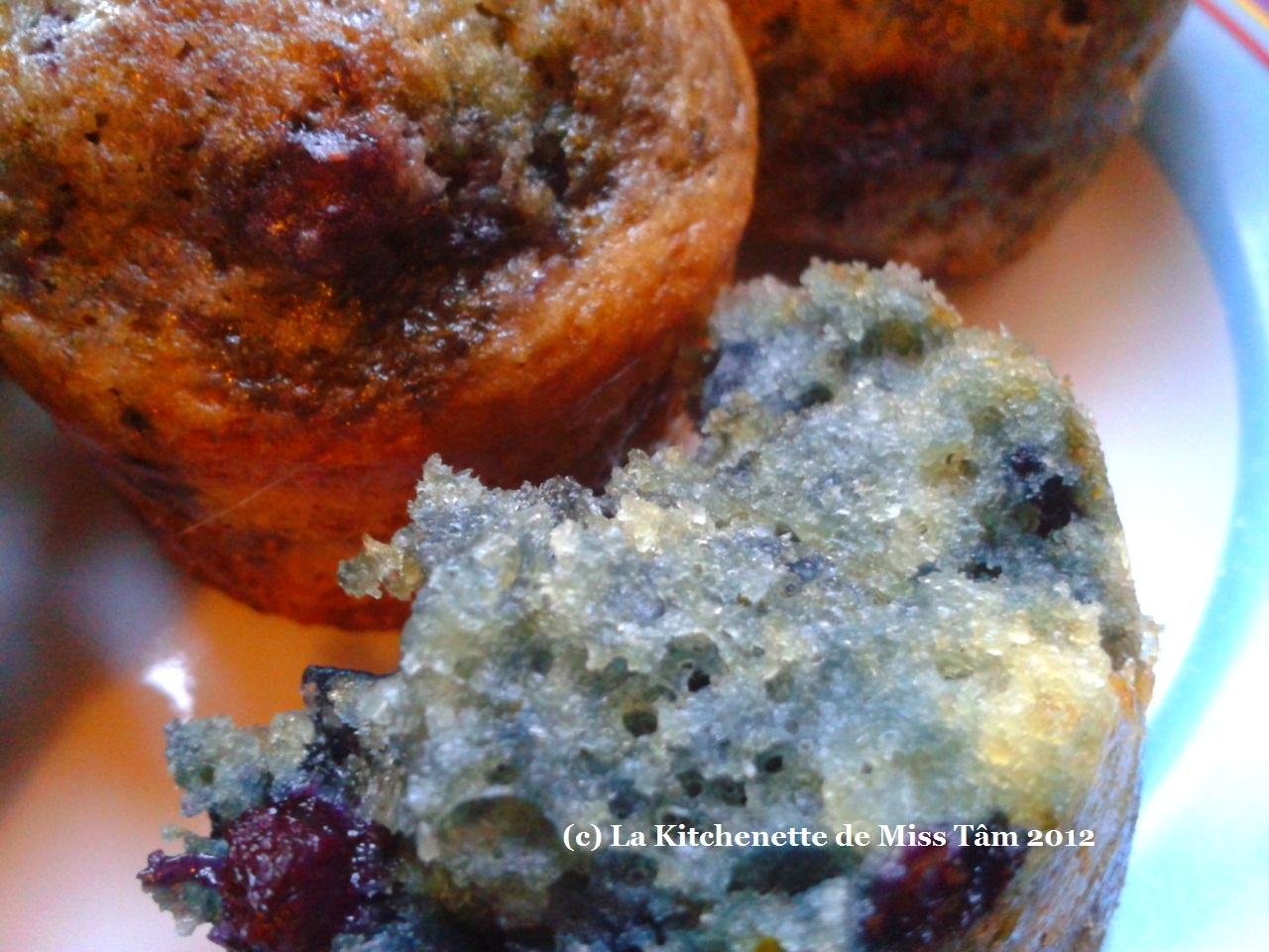 Kitchenette de Miss Tâm Moelleux aux myrtilles