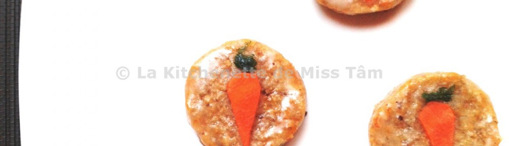 Biscuits carrot cake 3 La Kitchenette de Miss Tâm