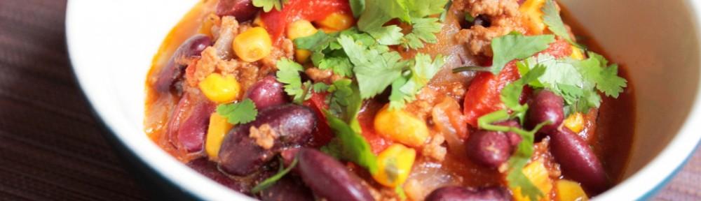 Chili con carne de La Kitchenette de Miss Tâm