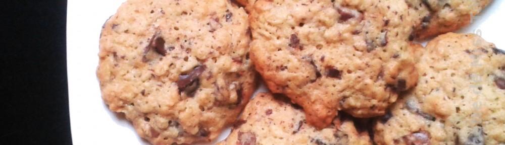 Cookies aux flocons d'avoine de la  Kitchenette de Miss Tâm