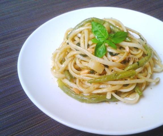 Pesto alla genovese par la Kitchenette de Miss Tâm