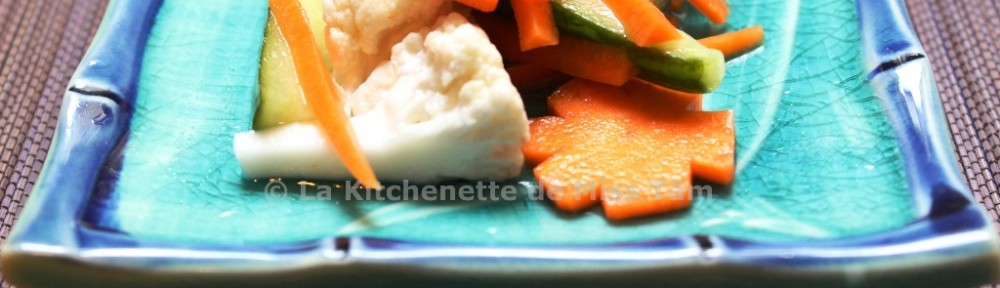 Dô Chua Pickles La Kitchenette de Miss Tâm