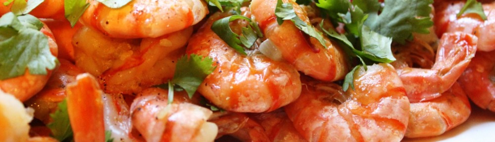 Crevettes à l'ail Tôm Rim Nuoc Dua par La Kitchenette de Miss Tâm
