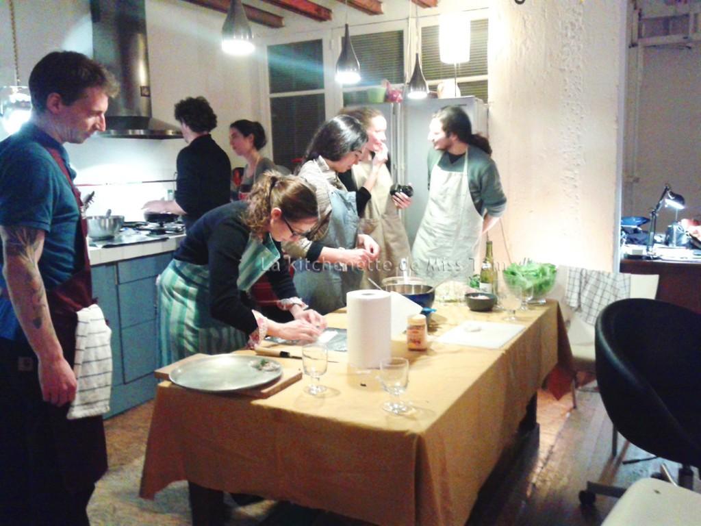Cours de cuisine particulier avec Miss Tam jan 2015