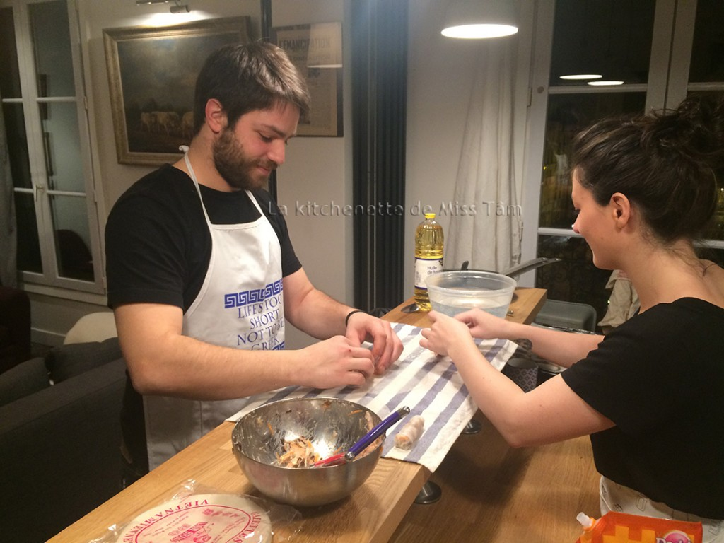 Cours particulier de cuisine avec Miss Tam n2 janvier 2016