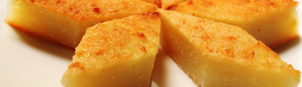 Banh Khoai Mi Gâteau au manioc de La Kitchenette de Miss Tâm