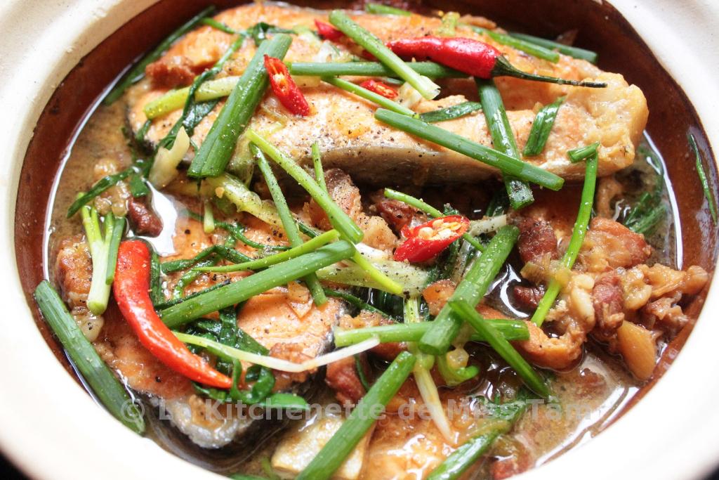 Poisson mijot la vietnamienne c kho t la - Zen la cuisine vietnamienne ...