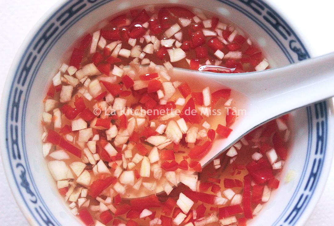 Sauce Nuoc Mam préparée de Kitchenette de Miss Tam