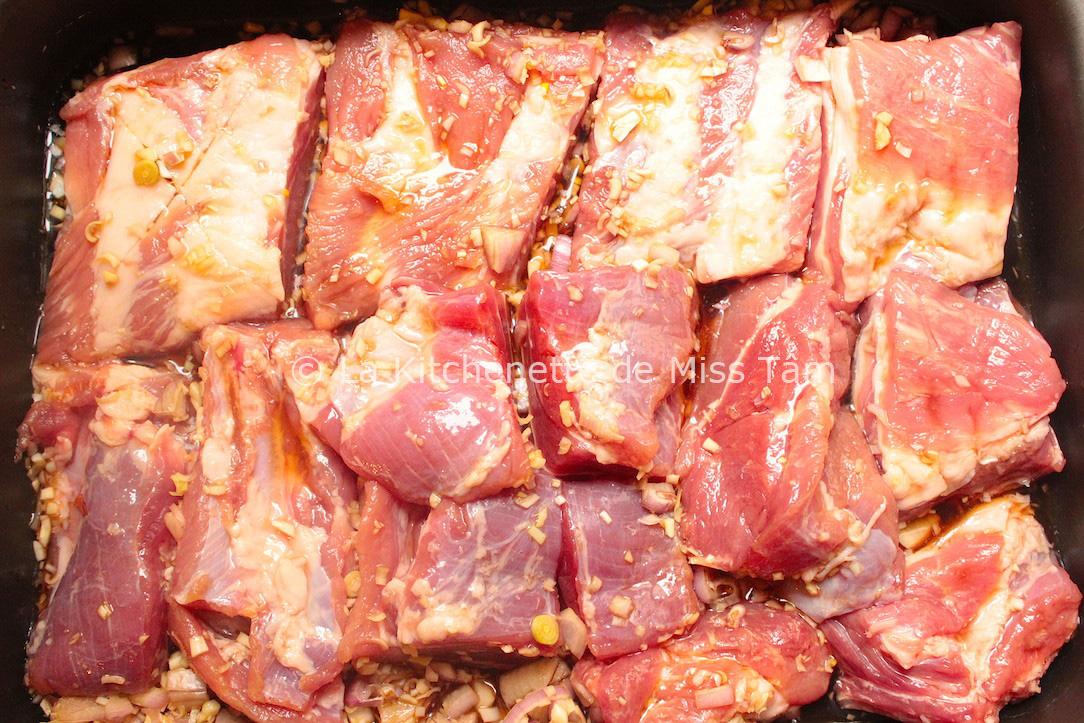 Travers de porc marinade - Cuisiner travers de porc ...