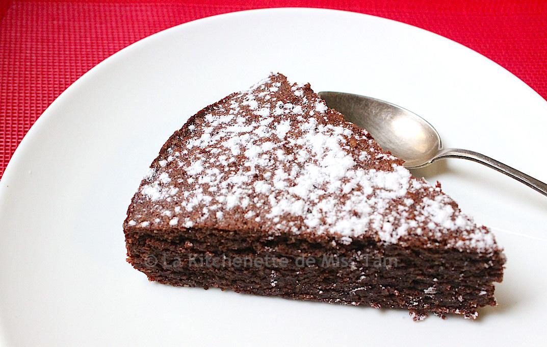 Torta caprese 8 La Kitchenette de Miss Tâm