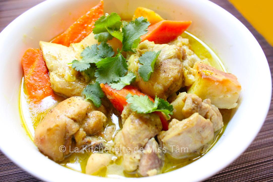 Curry de poulet vietnamien La Kitchenette de Miss Tam