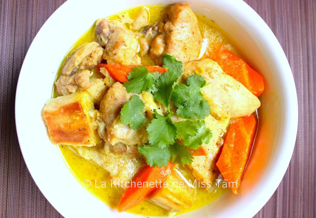 curry de poulet la vietnamienne c ri g la. Black Bedroom Furniture Sets. Home Design Ideas