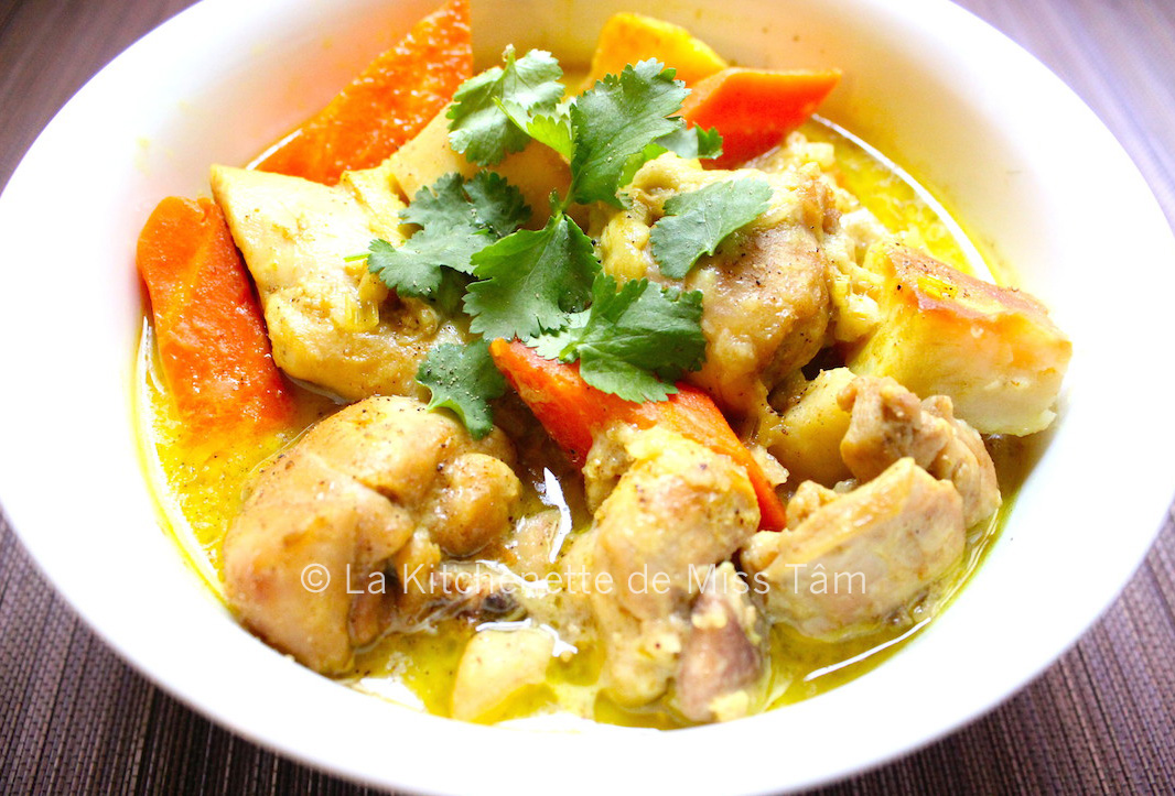 Curry de poulet vietnamien La Kitchenette de Miss Tâm R