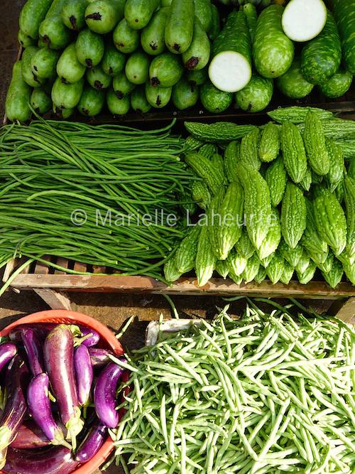 Légumes Vietnam copyright Marielle Laheurte