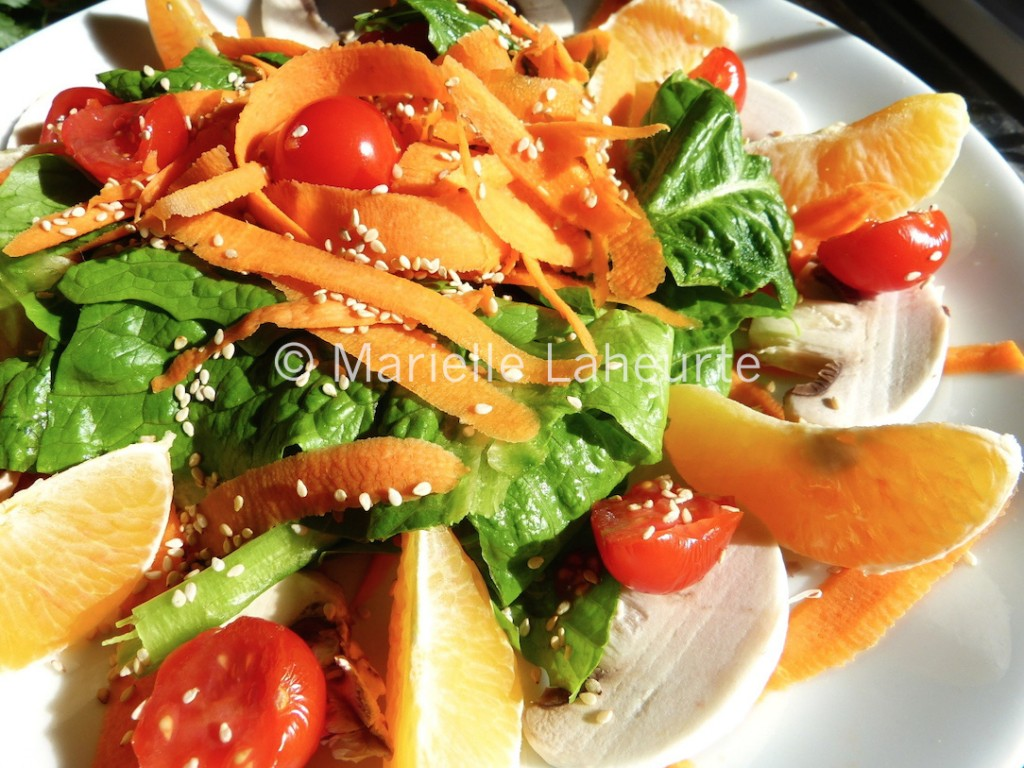 Photo salade copyright Marielle Laheurte copie