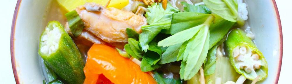 Soupe aigre-douce tamarin La Kitchenette de Miss Tam