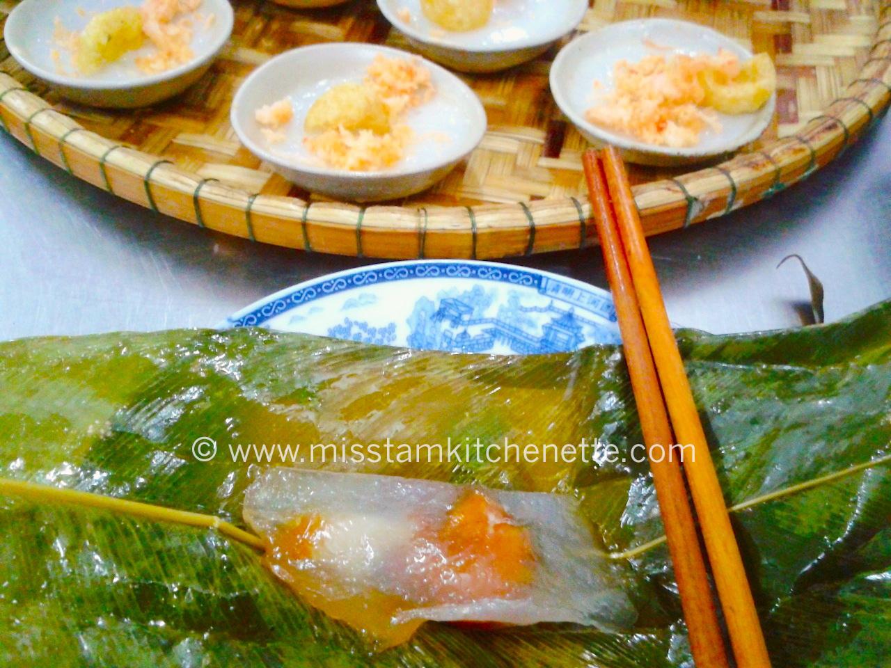 Banh Bôt Loc Huê photo La Kitchenette de Miss Tâm 3