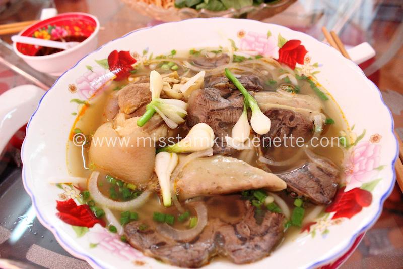 Bun Bo Huê Sai Gon photo La Kitchenette de Miss Tâm