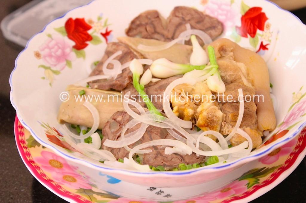 Bun Bo Huê Saigon photo La Kitchenette de Miss Tâm 4