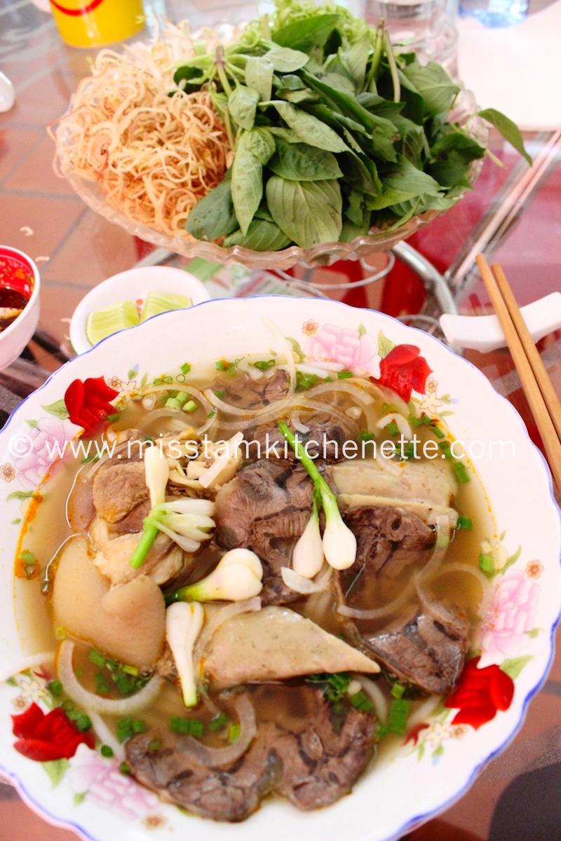 Bun Bo Huê Saigon photo La Kitchenette de Miss Tâm 7