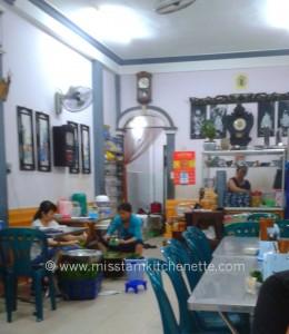 Photo La Kitchenette de Miss Tâm Huê restaurant Hàng Me Bà Kiêu 1