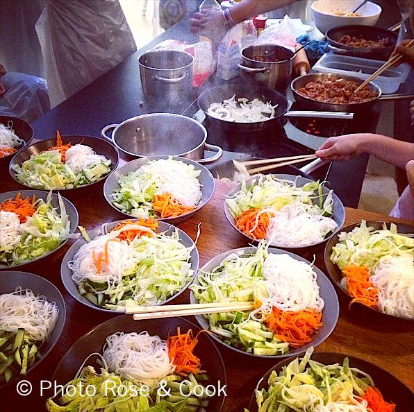 Atelier de cuisine de Miss Tâm photo RoseAndCook