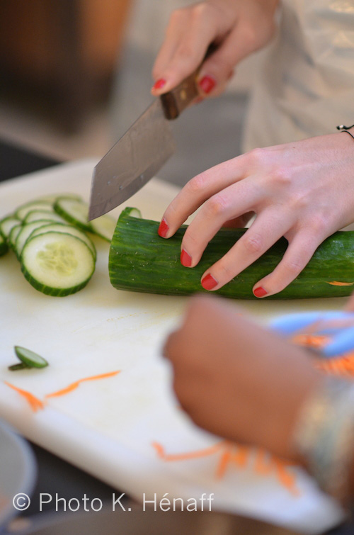 Atelier de cuisine vietnamienne de Miss Tâm 4 photo K. Hénaff