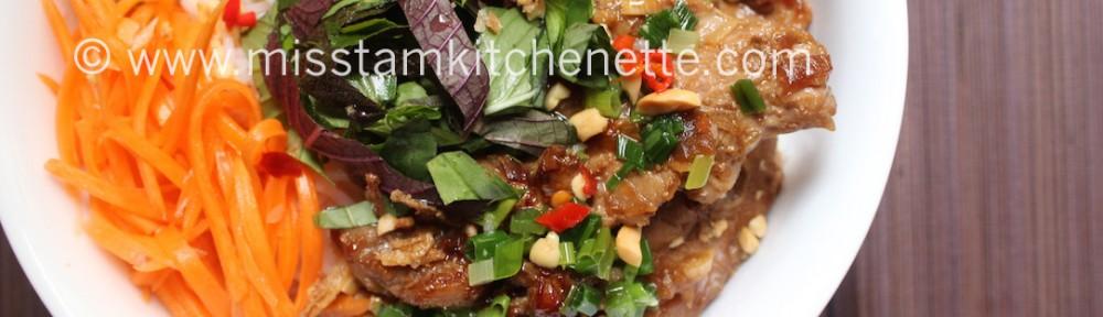 Bun Thit Nuong de La Kitchenette de Miss Tam 12