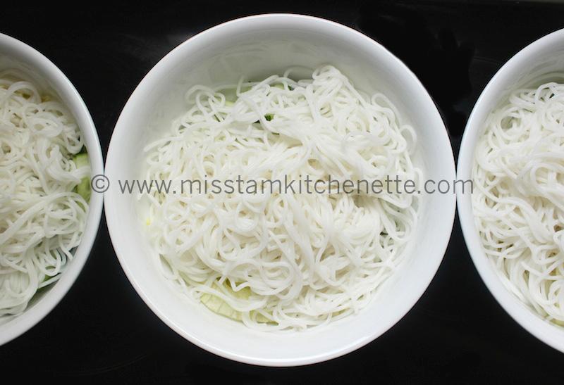 Bun Thit Nuong de La kitchenette de Miss Tam 7