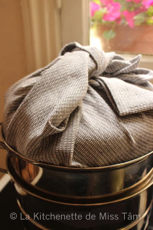 Couvercle Torchon vapeur de La Kitchenette de Miss Tâm
