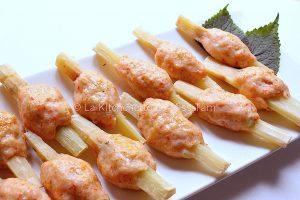 Crevettes à la canne à sucre La Kitchenette de Miss Tâm 2