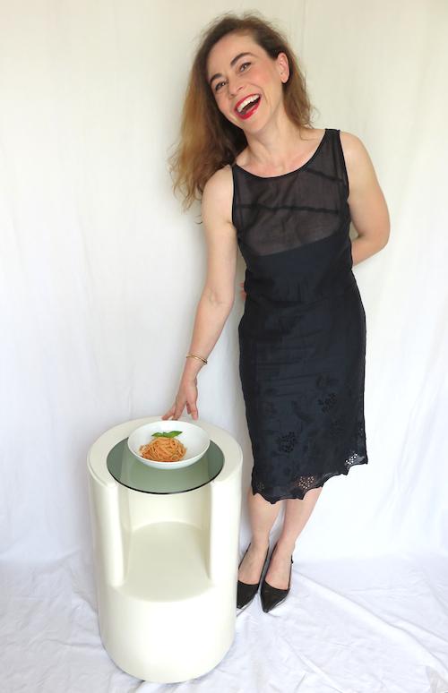 """""""Et un plat de pasta avait les mêmes vertus sur moi ?"""" Photo © 2014 Michelle Goldstein"""