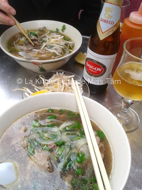 Pho Bière Saigon La Kitchenette de Miss Tâm 30 mai 2014