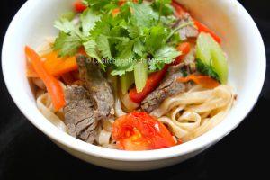 Pho xao bo La kitchenette de Miss Tam 1