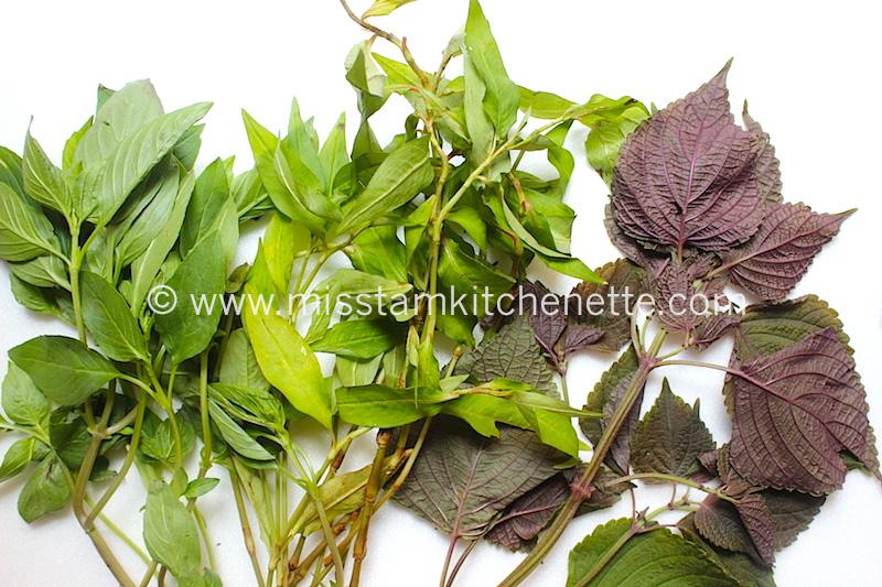Rau Thom Herbes aromatiques VN La Kitchenette de Miss Tam