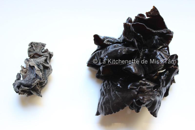 Champignon noir de La Kitchenette de Miss Tam
