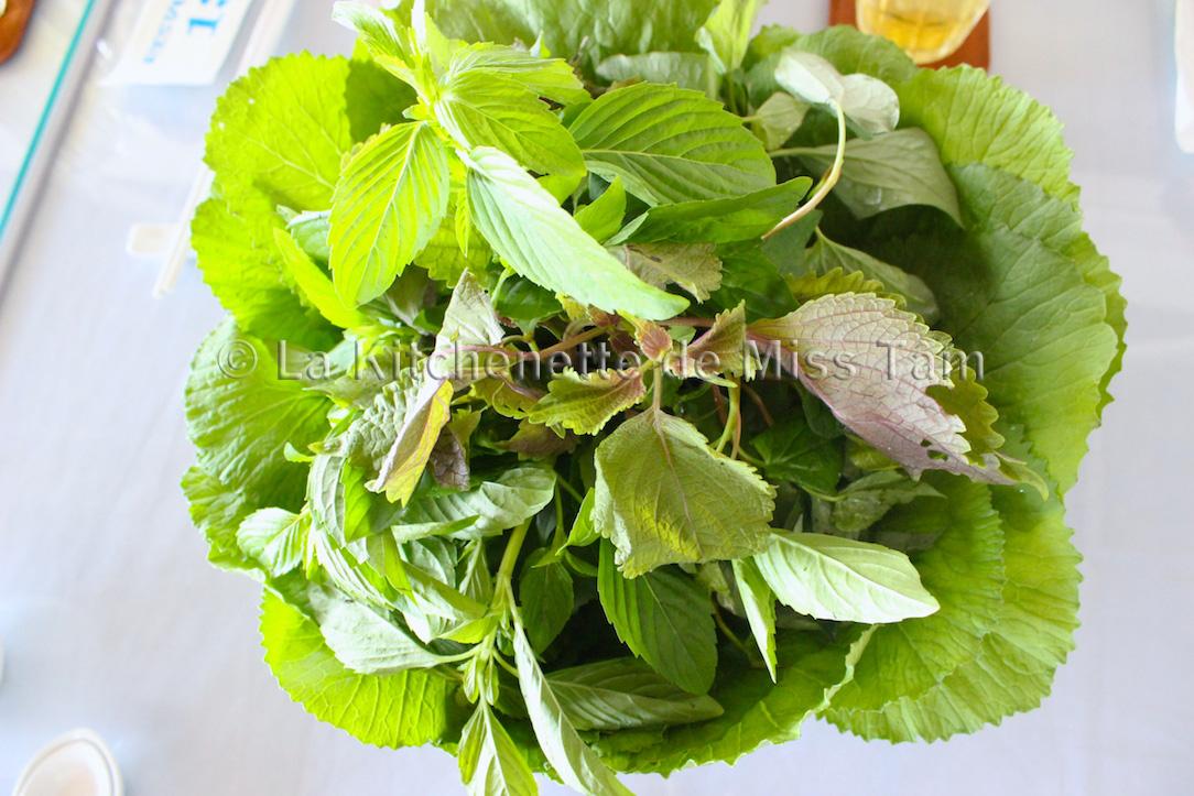 Herbes aromatiques Vietnam photo La Kitchenette de Miss Tam