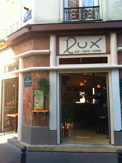 Cafe Le Lux Bo Bun Paris 11