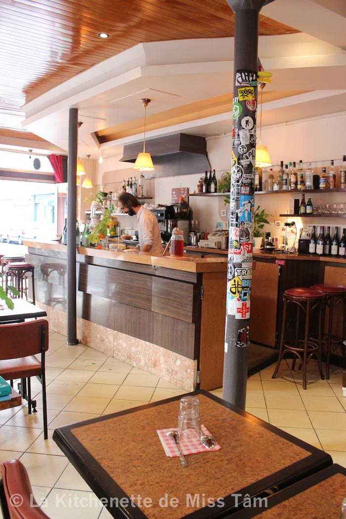 Nicolas du Café Lux, Paris.