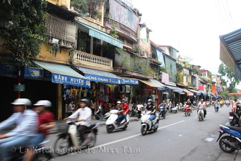 Photo prise à Hanoi durant un de mes voyages.
