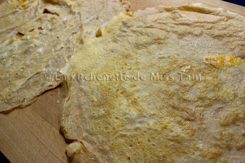 Omelette fine La Kitchenette de Miss Tam 1