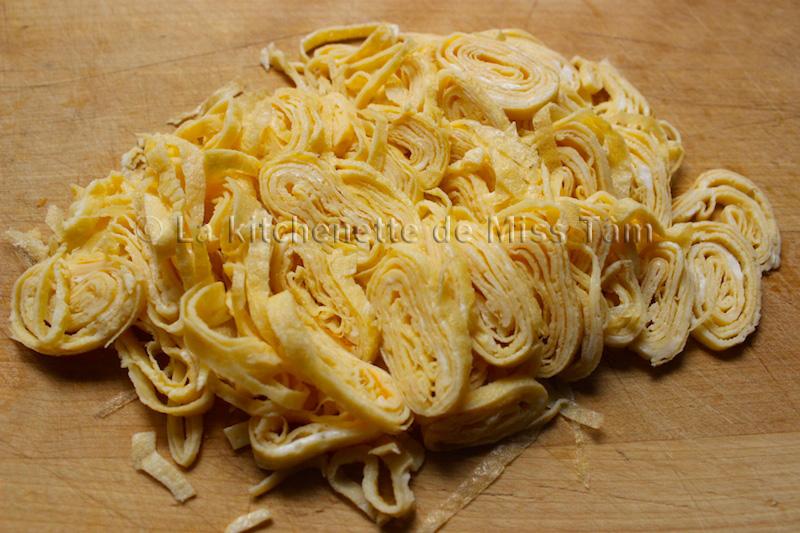 Omelette fine La Kitchenette de Miss Tam 3