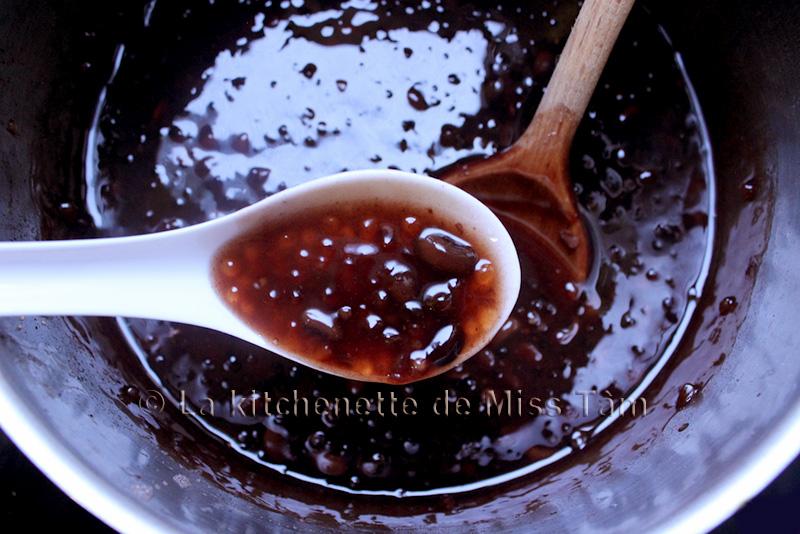 Che Dô Den Haricots noirs au lotus de La Kitchenette de Miss Tâm 5