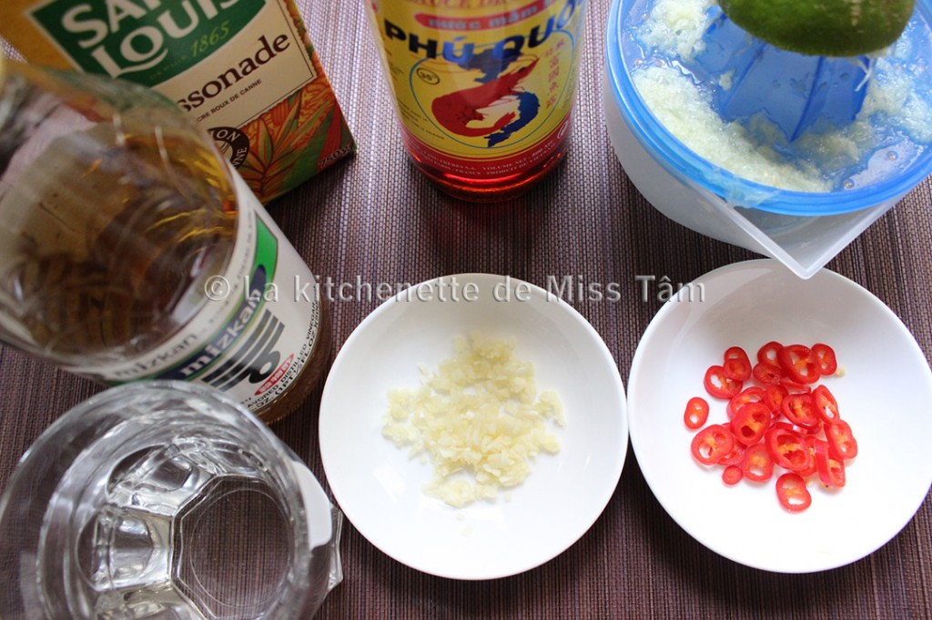 Nuoc Mam Pha La kitchenette de Miss Tâm 2