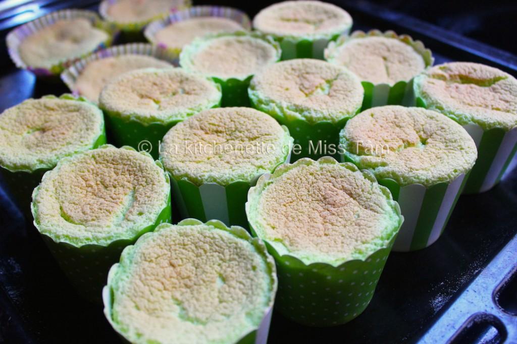 Pandan chiffon cake de La kitchenette de Miss Tam 3
